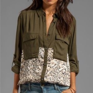 Free People Welcome To The Jungle Shirt